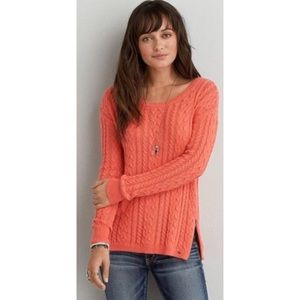 American Eagle | Braided Knit Sweater sz S